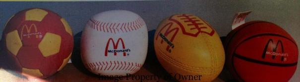 McDonald's Sports Balls