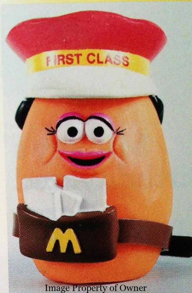 Chicken McNugget toy