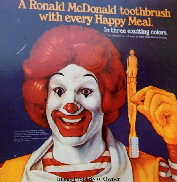 Ronald toothbrush
