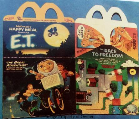 mcdonalds happy meal toys from the 80s 1985 yello80s