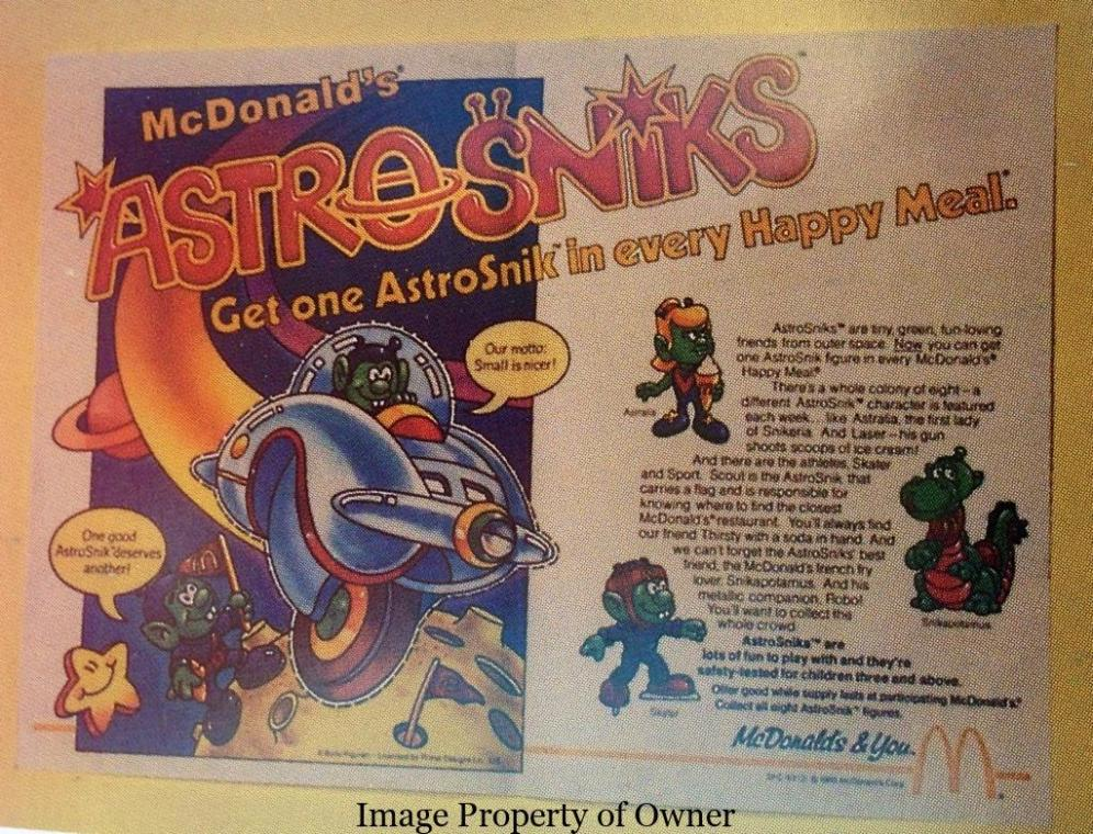 Astroniks Paper Ad