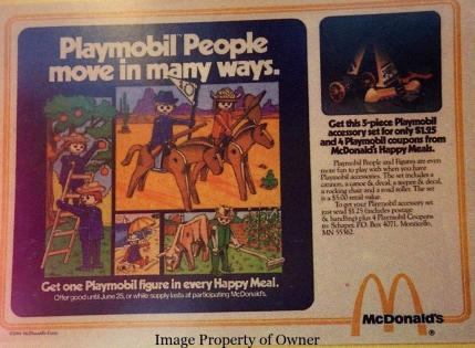 Playmobile People Paper Ad