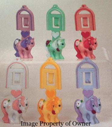McDonald's MLP Happy Meal charms