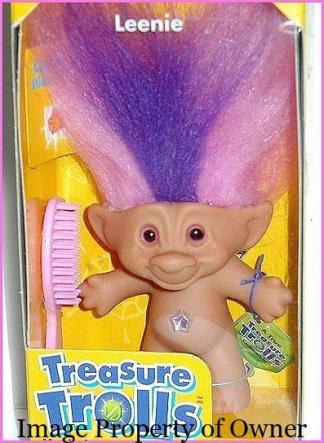 Galoob Treasure Troll Leenie - miss17