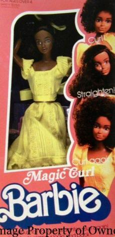 Magic Curl Barbie