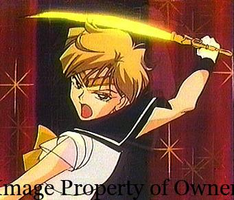Sailor Uranus attack- author uknown