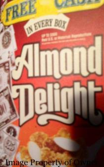 Almond Delight author unknown