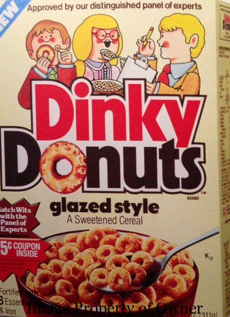 Dinky Donuts author unknown