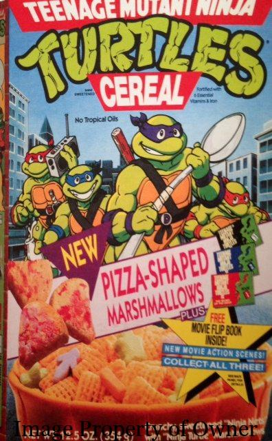 TMNT cereal author unknown