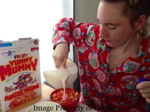 Yummy Mummy + milk
