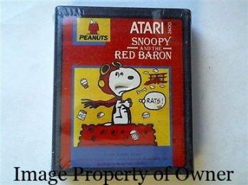 ATARI Snoopy and the Red Baron property mediaencyclopedia