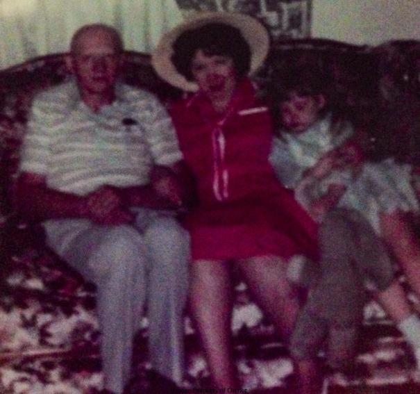 Gramma J's Easter Bonnet 1984