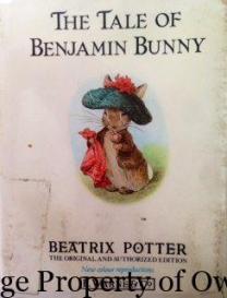 Benjamin Bunny -Beatrix Potter Yello80s.com