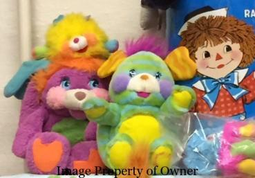 Melissa and Jason rounded out the 80s with these Popple pals