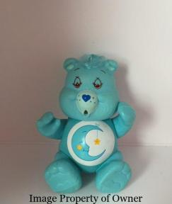 Bedtime Bear, lids drawn