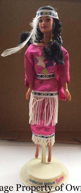 Native American Barbie