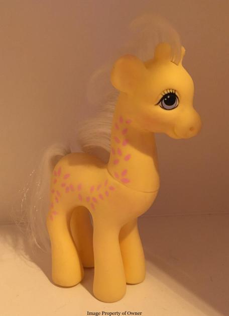 Creamsicle giraffe