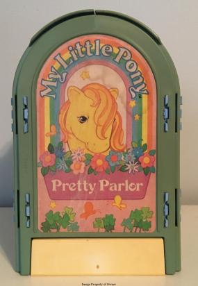 Pretty Parlour back lithograph