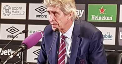 Pellegrini pleased with 'gritty' Hammers