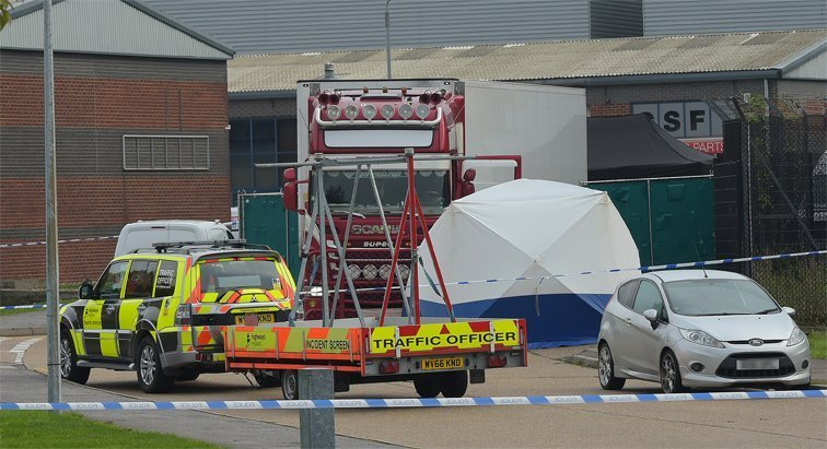 Police close Grays industrial site after finding 39 bodies