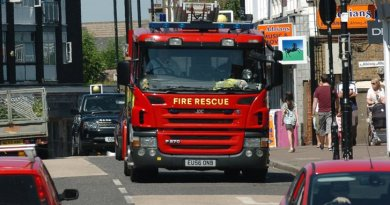 Investigation after 40 firefighters are scrambled to blaze at Romford vehicle workshop