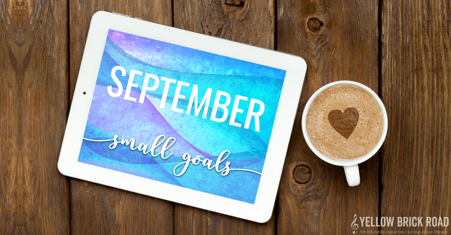 September Small Goals