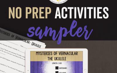 No Prep Activities Sampler (Free)