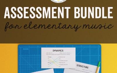 Assessment Bundle for Music
