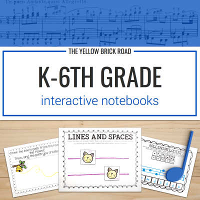 Kindergarten-6th Grade Interactive Notebook