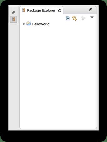 Cửa sổ Package Explorer