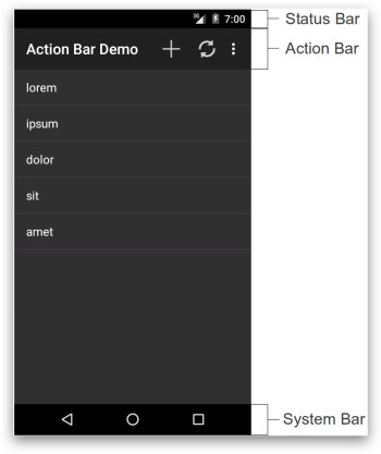 ActionBar - Android 5.x