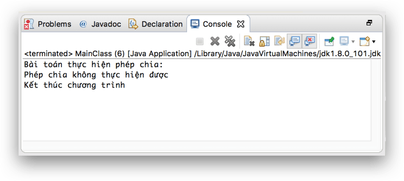 Exception tập 3 - try catch với finally