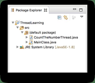 Cấu trúc project thực hành Thread