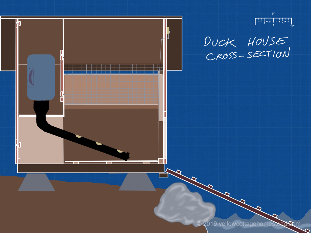 Duck house plan