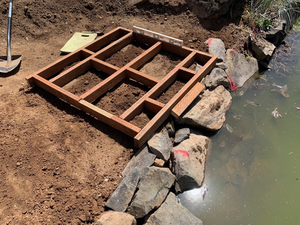 Footings & floor joists