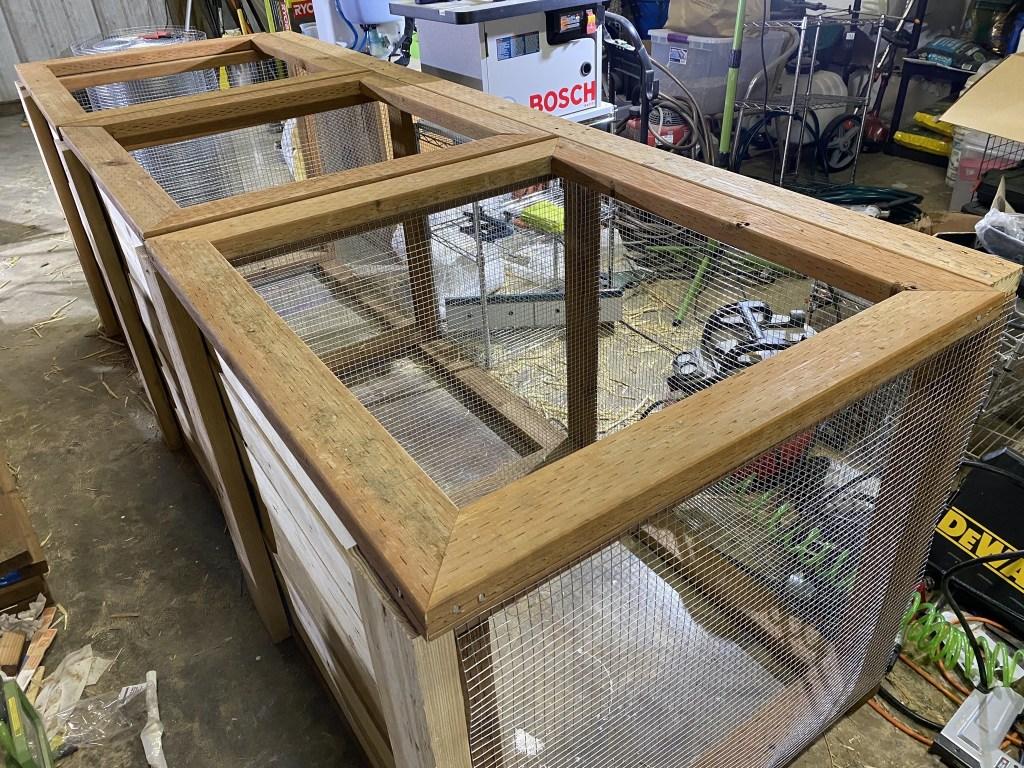 Lid frame