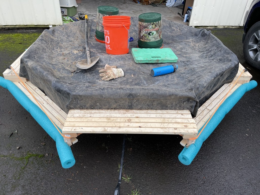 Duck island pulled out of workshop