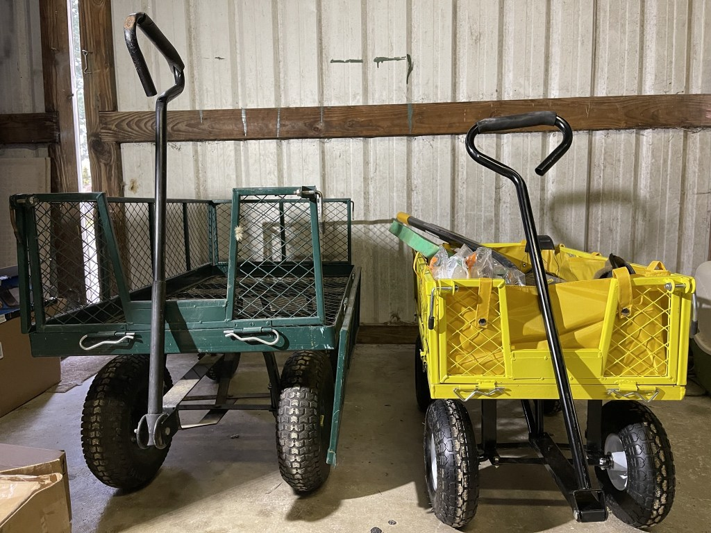 Two carts