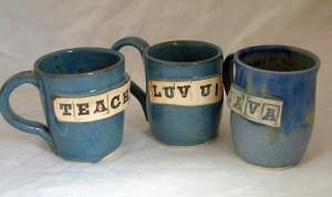 Coffee Mugs in Stoneware