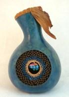 Dreamcatcher Weave Gourd Vase