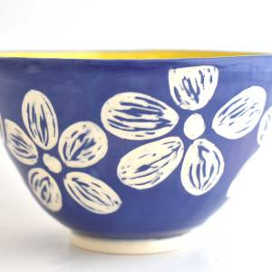 Small Bowl with Floral Pattery