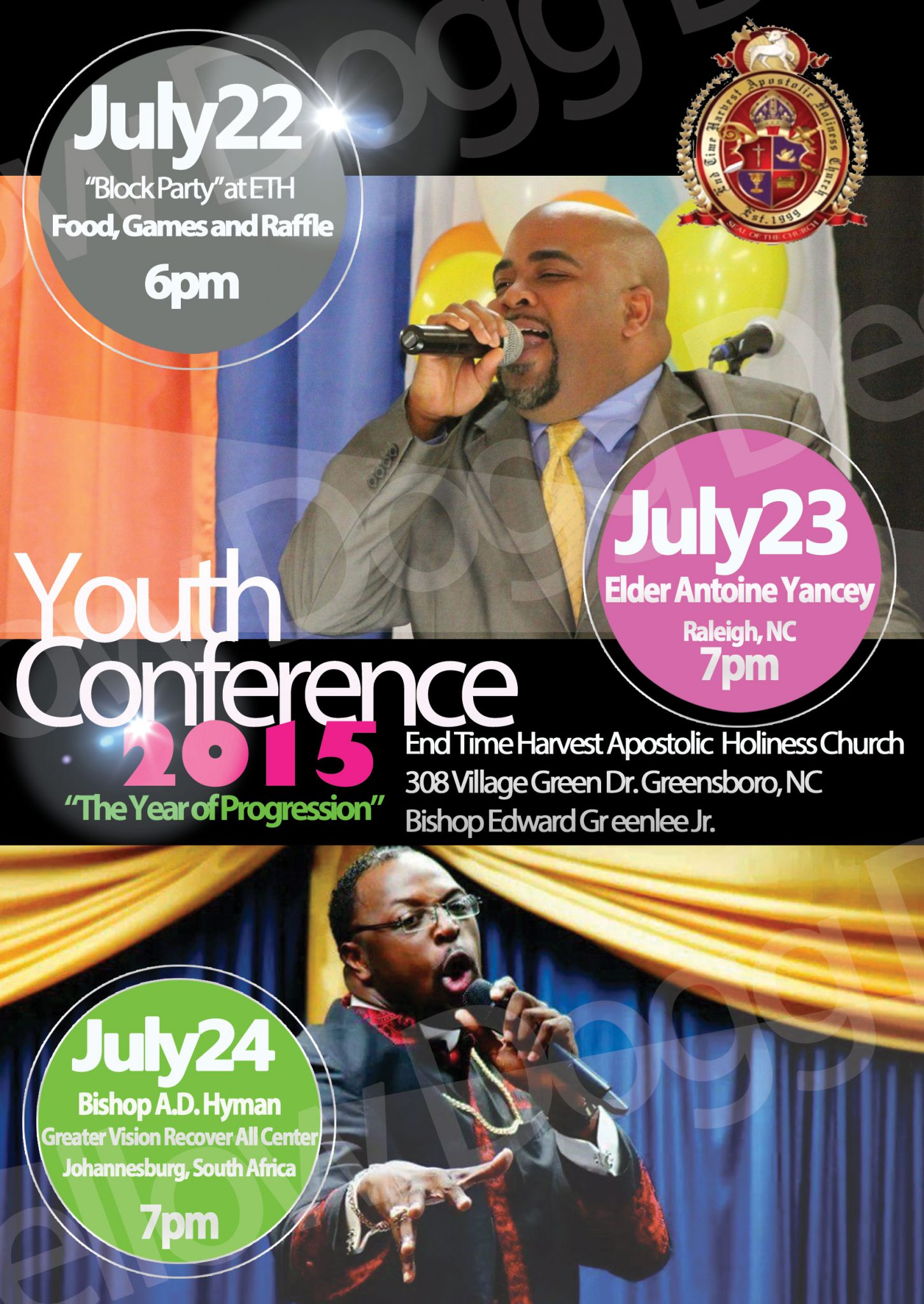 Youth Conference Promotional Flyer | Yellow Dogg Designs