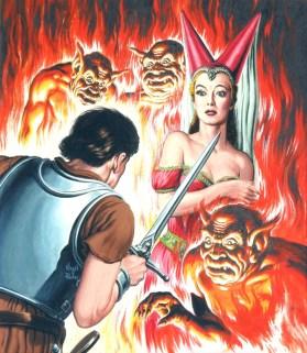 """Swords and Sorcery"" - Virgil Finlay - Pyramid R950, 1963"