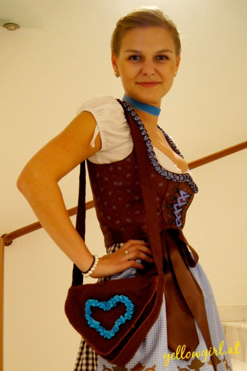 Dirndl Tasche DIY yellowgirl.at