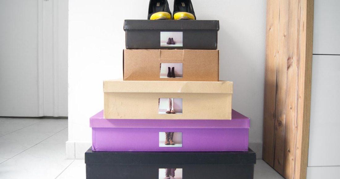 Ordnung im Schuhregal