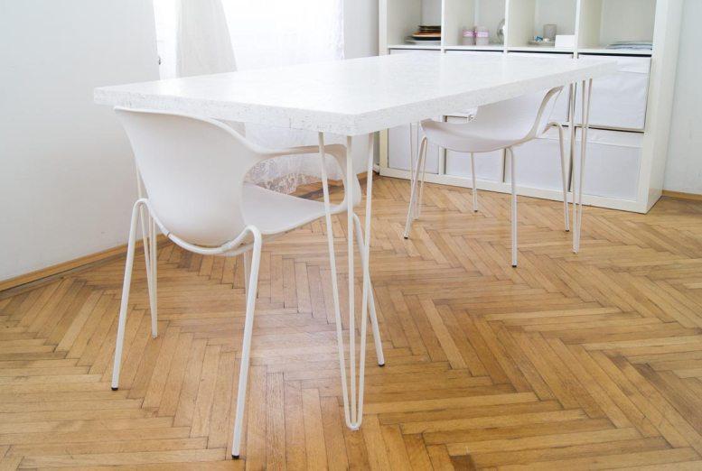 diy osb hairpin tisch wie baue ich einen tisch aus osb platten yellowgirl der diy und. Black Bedroom Furniture Sets. Home Design Ideas