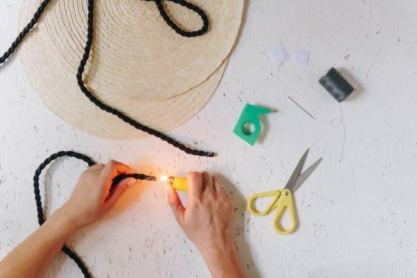 yellowgirl-Ikea Hacking- Runde DIY Strohtasche Teil 2 (3 von 15)