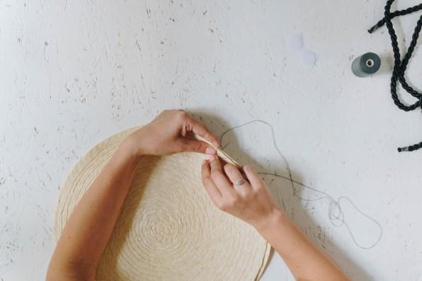 yellowgirl-Ikea Hacking- Runde DIY Strohtasche Teil 2 (4 von 15)