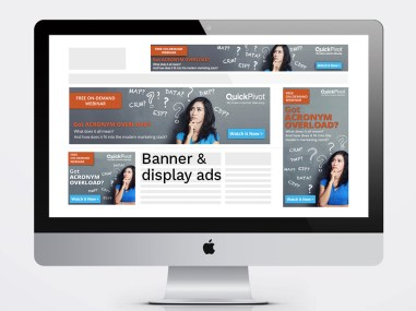 Banner ads, display ads