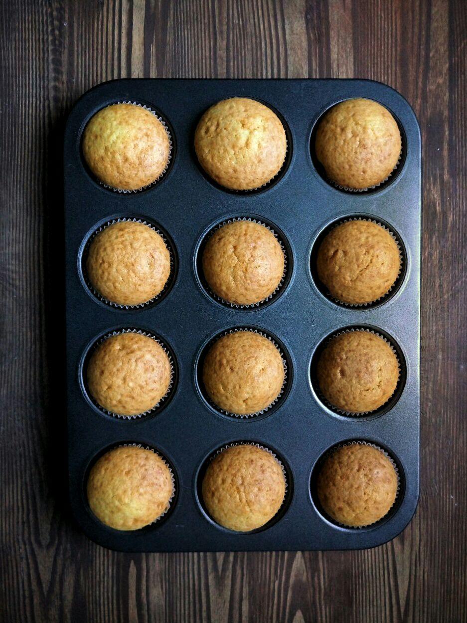 Апельсиновые маффины без яиц | Yellowmixer.com